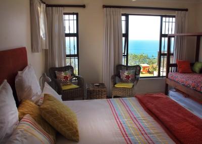 B&B Orange apt Sheffield Beach bedroom